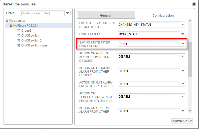 Zipabox : obtenir un paramètre Z-wave (résultat)