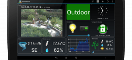 Écran ImperiHome tablette multi icones