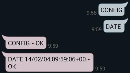 IQSocket Configurer la date