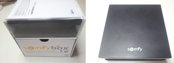 Comparatif des tailles des box Somfy