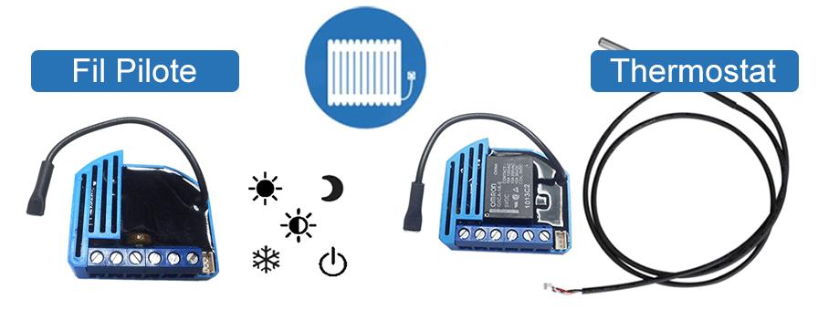 Modules Fil Pilote et Thermostat