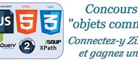 Concours Zodianet Objets communicants