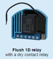 Flush 1 Dry relay