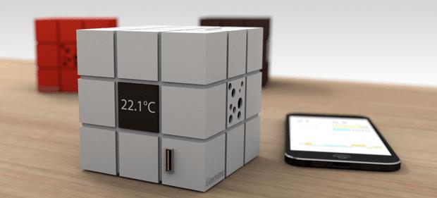Cube connecté GreenMe