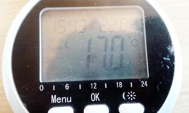 SHS-53000 écran de la tête thermostatique
