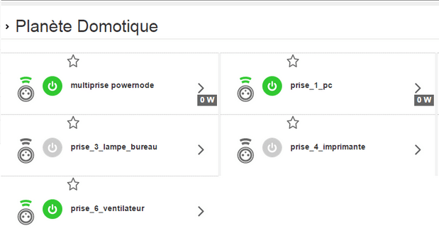 Intégration PowerNode sur Orange HomeLive