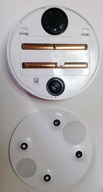 Installation sirène du Home Alarm : piles