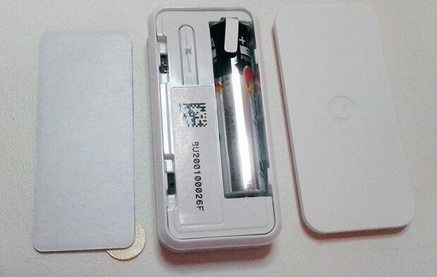 IntelliTAG Home Alarm : boitier ouvert