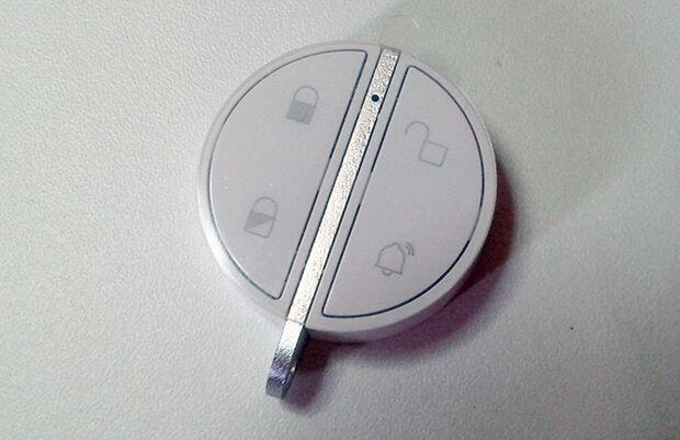 Badge télécommande Home Alarm