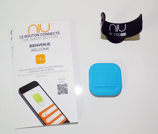 Découverte du button NIU de NodOn : contenu de la boite