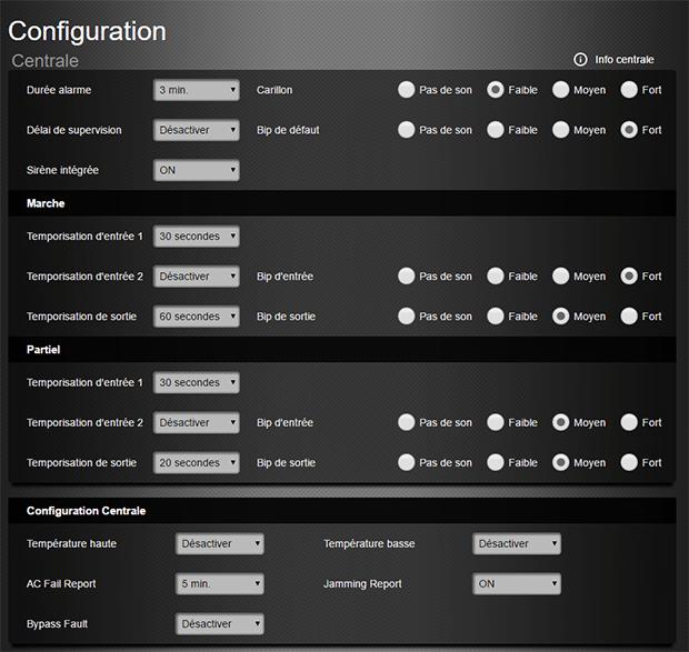 Blaupunkt Q3200 Configuration centrale