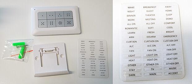 Accessoires fournis avec le contrôleur Remotec
