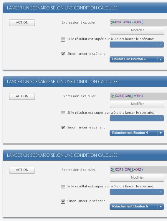 ZRC90 dans Zibase : gestion des types de clics