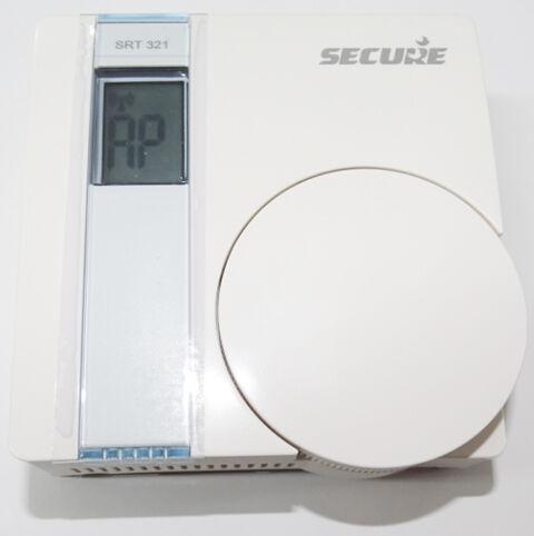 """Ecran """"AP"""" sur le thermostat Secure (Association réussie)"""