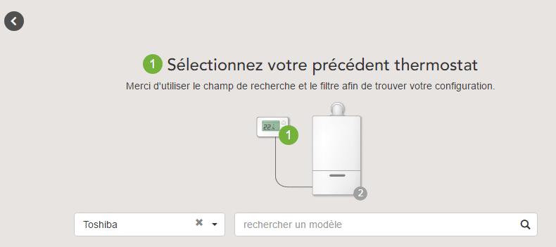 Tado° : choix du modèle de chauffage et de thermostat
