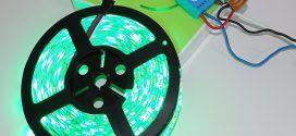 Module RGBW Qubino et bandeau de LED