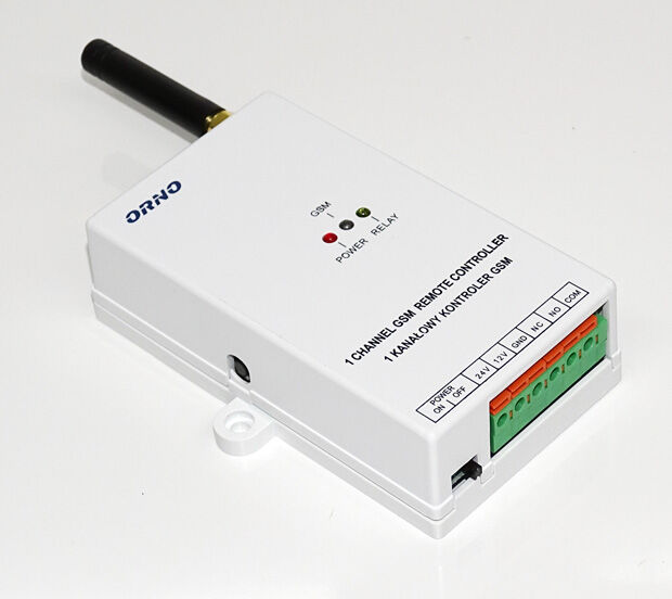 Vue du module GSM Orno