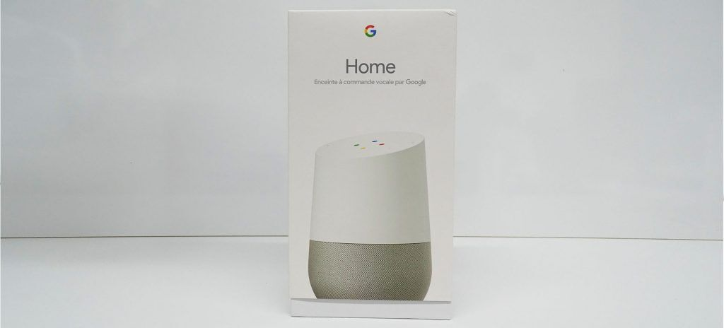 Google Home boite