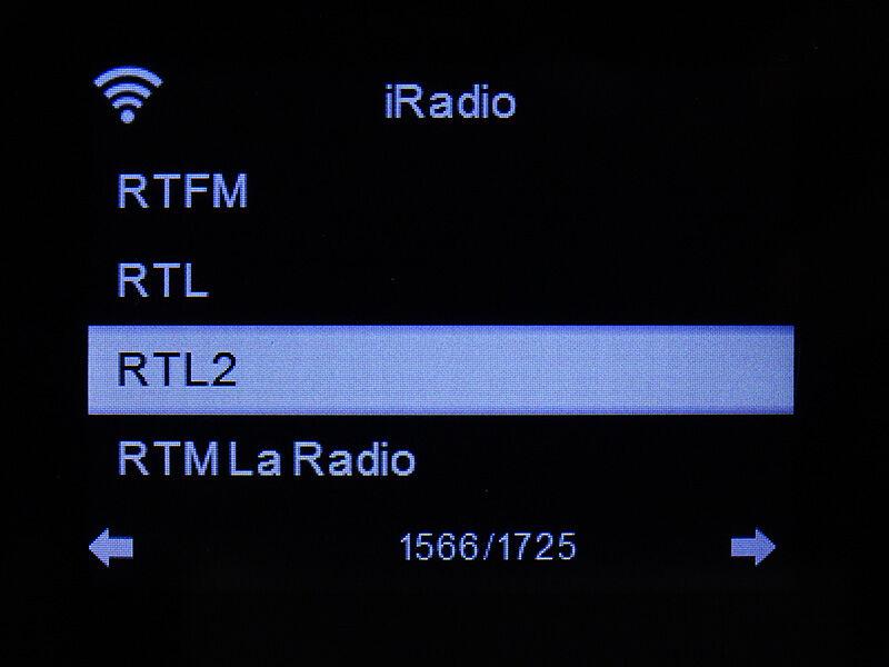 Liste des radios