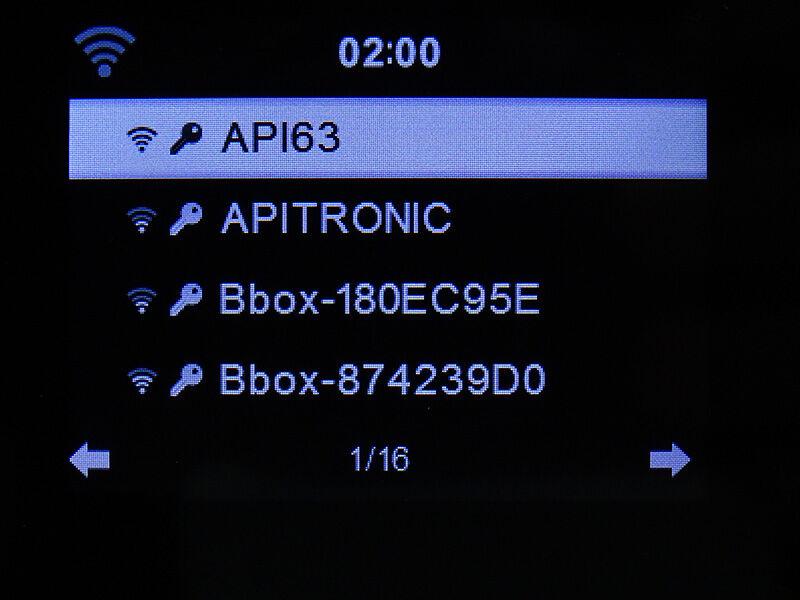 3 - Connexion réseau