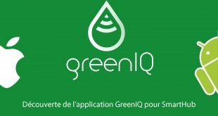 Découverte de l'application GreenIQ