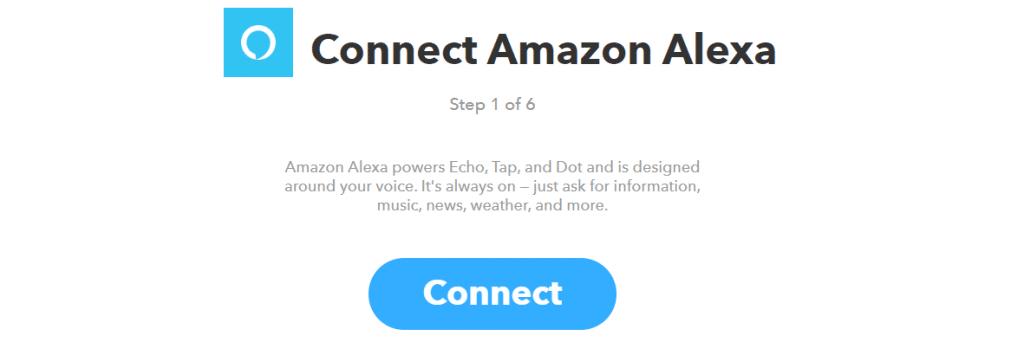 Se connecter à Amazon Echo