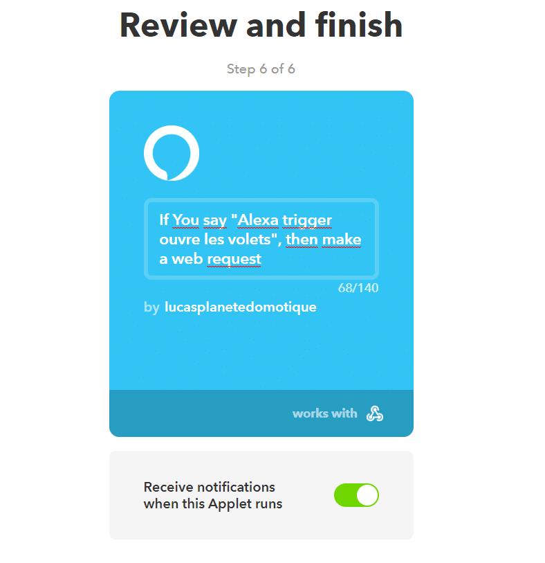 C'est terminé !