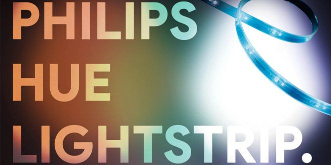 Ruban LED Philips Hue Lightstrip