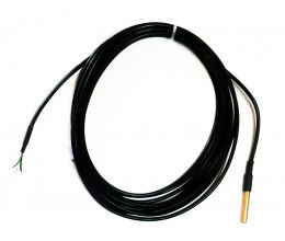 Sonde de température 1-Wire étanche, 3 mètres sans connecteur
