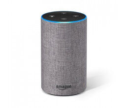 Assistant vocal Amazon Echo Génération 2 Gris - Amazon