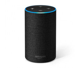 Assistant vocal Amazon Echo Génération 2 Anthracite - Amazon