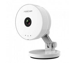 Caméra IP C1 lite 720P blanche vision nocturne WiFi - Foscam