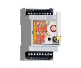 Boitier Rail DIN IQconbox mobile pilotable GSM et Bluetooth - IQTronic