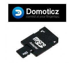 Carte Micro SD 8Go avec Domoticz pour RaspberryPI (avec adaptateur)