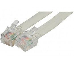 Câble RJ12 avec 6 contacts, longueur 3m