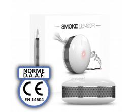 Détecteur de fumée Z-Wave Plus FGSD norme EN14604 - Fibaro