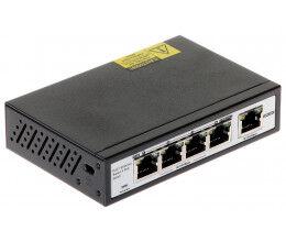 Switch 5 ports dont 4 POE vitesse 100Mbps - Wizelec