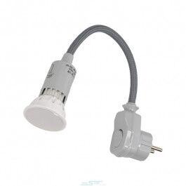 Lampe LED col de cygne sur prise murale - Orno