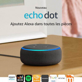 Assistant vocal Amazon Echo DOT Génération 3 Blanc - Amazon