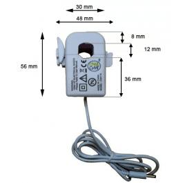 Pince ampèremétrique OWL - dimensions de la version standard