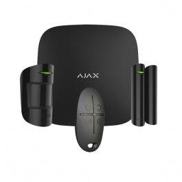 Kit d'alarme professionnel Ethernet et GPRS version noire - Ajax Systems