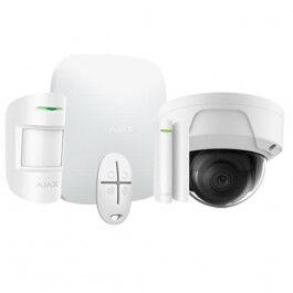 Kit d'alarme professionnelle avec caméra dome fixe - Ajax Systems