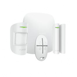 Kit d'alarme professionnelle Ethernet et GPRS version blanche - Ajax Systems