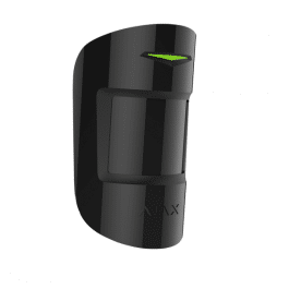 Capteur PIR infrarouge et micro-ondes noir - Ajax Systems