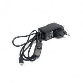 Alimentation micro USB avec interrupteur 5 V 2,5 A