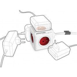 Bloc Multiprise Compact (5 Prises) avec câble de 1.5m - Allocacoc