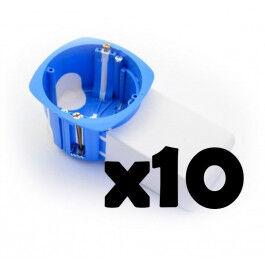 Lot de 10 boites d'encastrement avec poche micromodule - BLM