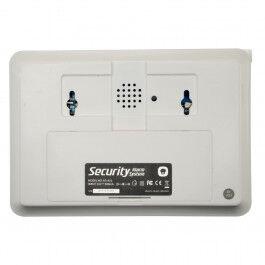 Kit d'alarme domestique avec panneau tactile LCD et module PSTN - Chuango