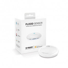 Détecteur d'inondation Bluetooth compatible Apple HomeKit - Fibaro