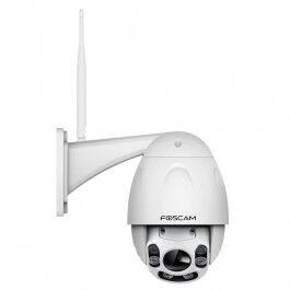 Caméra de surveillance extérieure motorisée IP et Infrarouge 60m - Foscam